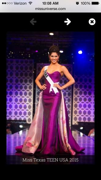dress purple prom dress prom sweet 16 dresses gown