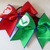 Mario and Luigi Set Large Hair Bow