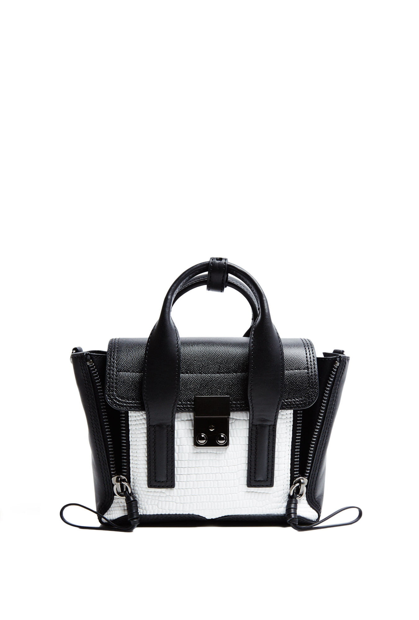 3.1 Phillip Lim  | Monochrome Pashli Mini Satchel by 3.1 Phillip Lim
