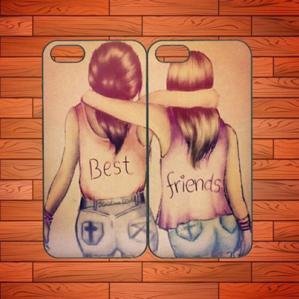 phone cover bff iphone cases