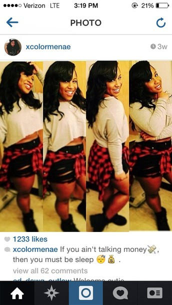 jacket reginae cater nae plaid