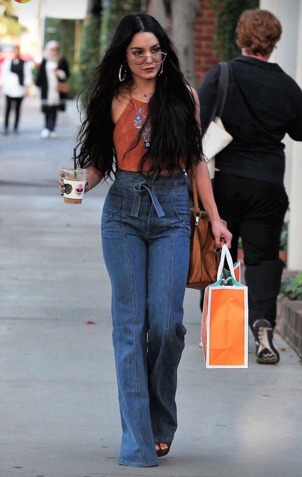 jeans boho bell bottoms high waisted jeans bohemian bohemian pants