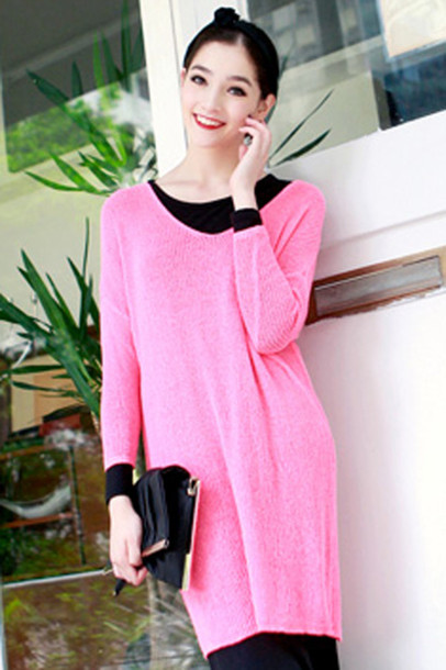 sweater jumper fashion pink