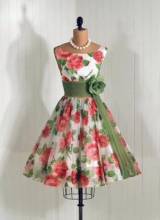 dress pink dress green dress floral dress