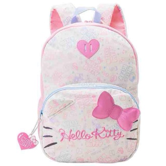 bag hello kitty backpack kawaii girly cute back to school pink kawaii bag