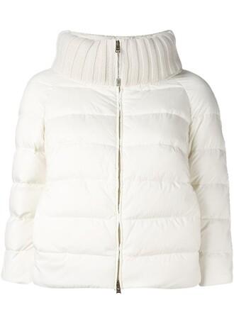 jacket cropped white