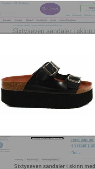 shoes sandals platform shoes