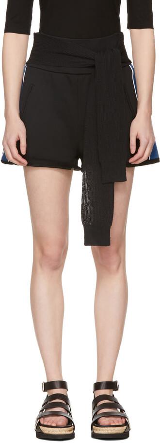 shorts blue black