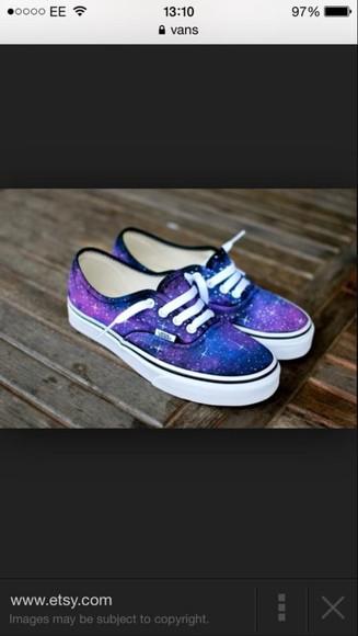 vans style galaxy shoes vans galaxy vans, blue, white, weed, grass, marijuana colourful bright