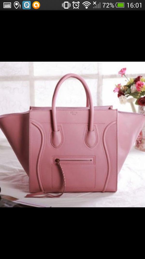 celine phantom bag pink
