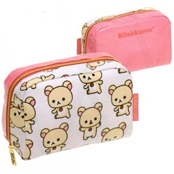 San-X Rilakkuma Everyday 6.1'' Multi-Use Pouch: Little Bear
