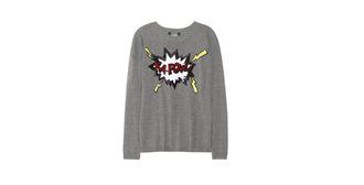 sweater pull grey