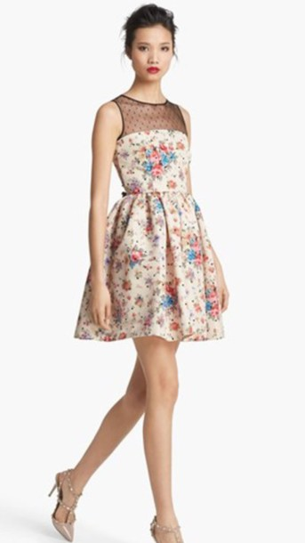 dress red valentino polka dot flower r dress