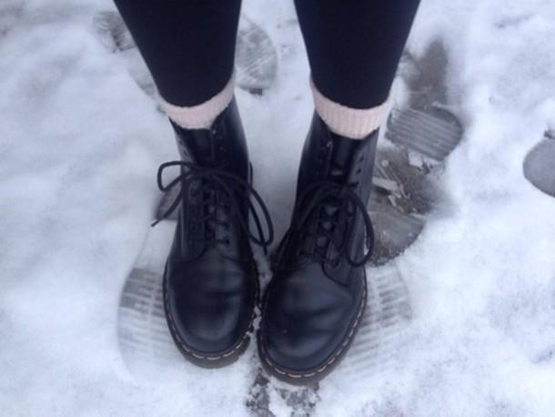 shoes DrMartens black black combat boots boots combat boots
