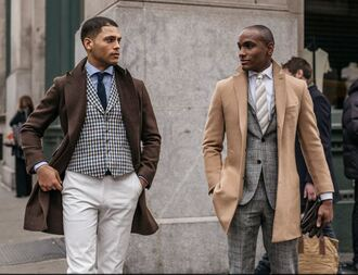 coat suit mens shirt menswear fashion week 2016 streetstyle