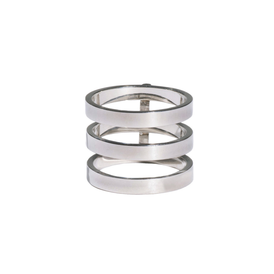 Bar silver ring – wanderlust   co