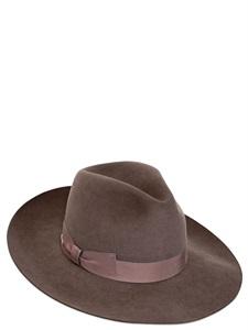Lapin fur felt hat
