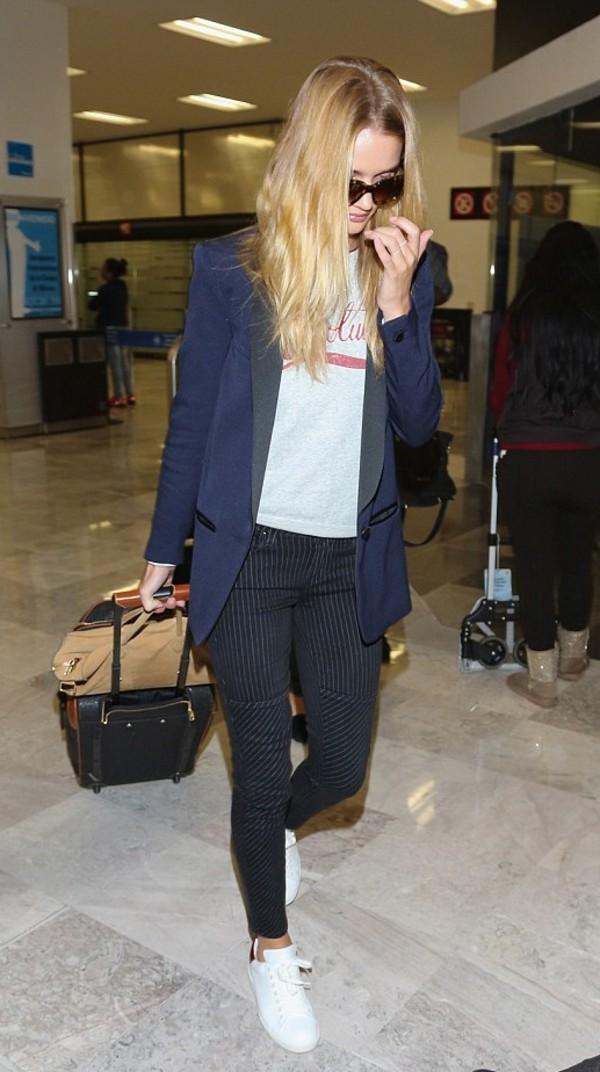 jacket pants rosie huntington-whiteley shoes sneakers