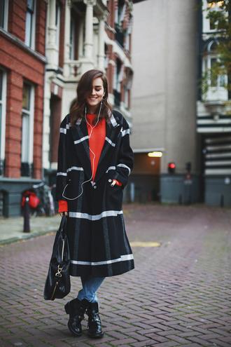 jeans bag blogger style scrapbook tartan