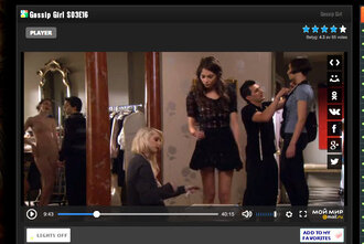 dress gossip girl little j skirt short jenny humphrey gg