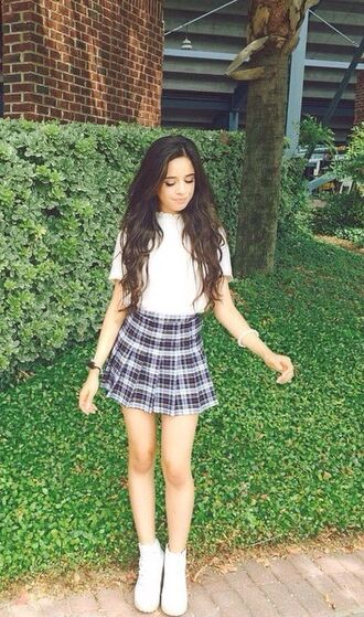 white blouse white blouse fashion cardigan fifth harmony crop tops music celebrity style