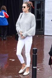 shoes,sweater,white shoes,pants,white pants,espadrilles,sunglasses