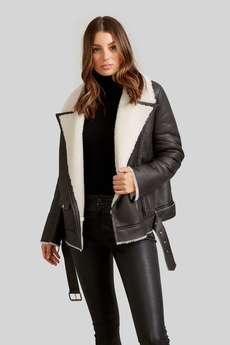 Bentley Shearling Jacket