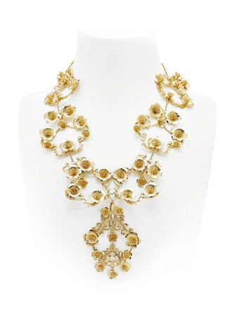 necklace gold jewels