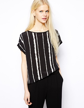 Mango | Mango Stripe Shell Top at ASOS