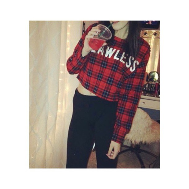 shirt plaid flannel shirt long sleeves