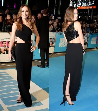 dress bag black olivia wilde