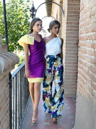 pants palazzo palazzo pants multicolor summer spring outfits summer pants spring pants summer outfits red lime sunday
