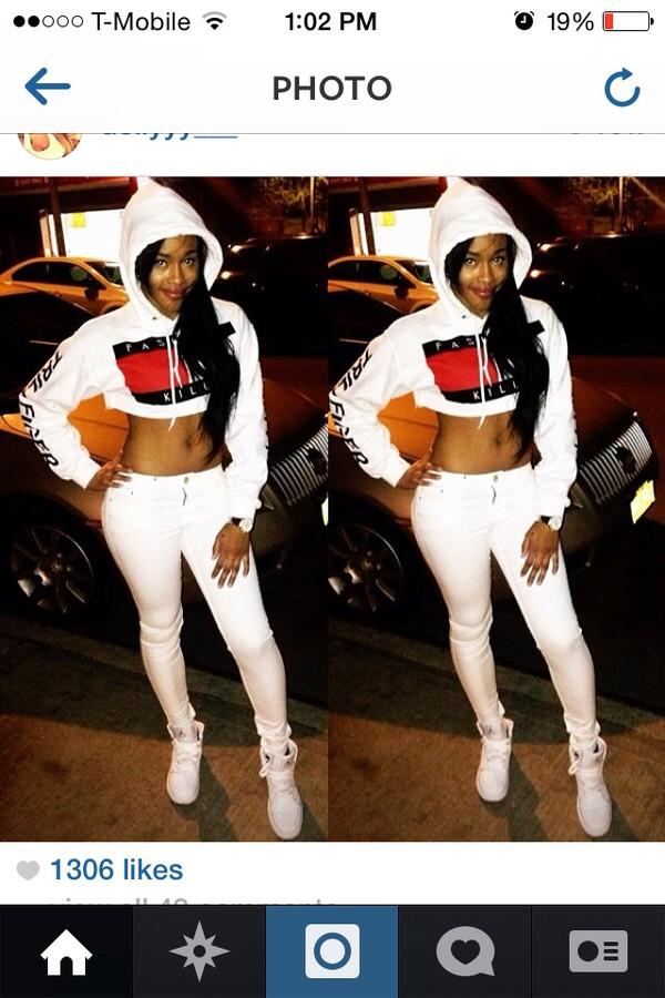 tommy hilfiger pants leggings hoodie white crop tops jeggings white pants white sneakers
