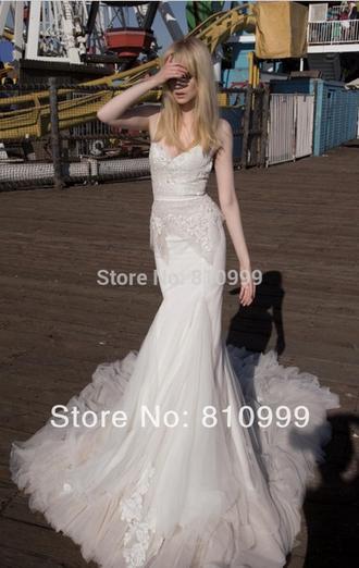 wedding dress fashion wedding dress romantic wedding dress mermaid wedding dresses tulle wedding dress