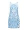 Alysa printed shift dress