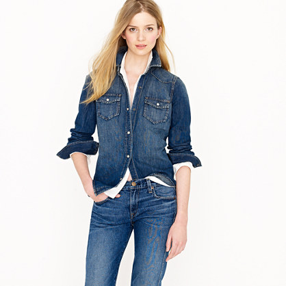 western shirt - casual shirts - Women's shirts & tops - J.Crew
