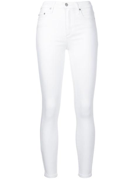 Nobody Denim jeans women spandex white cotton