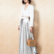 Silver the stephania skirt dress | fame & partners usa