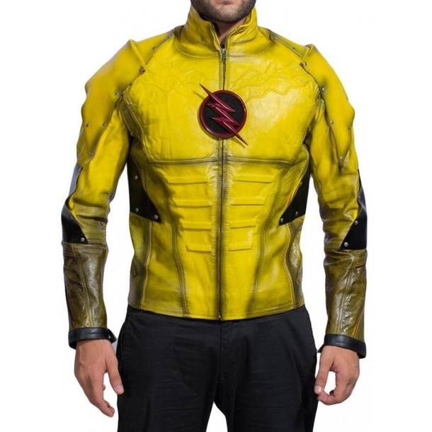 jacket fashion menswear winterseason newarrival style areverse flash eobard thawne shopping