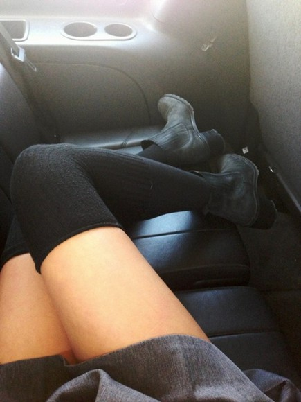 shoes black shoes black boots shorts black high heels underwear