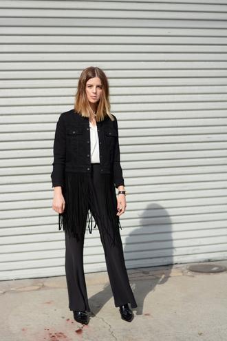michelle madsen home - take aim blogger jacket shirt bag shoes pants