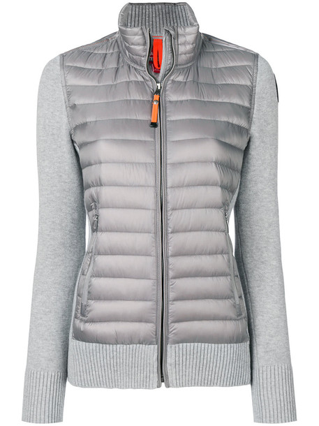 parajumpers jacket women cotton grey