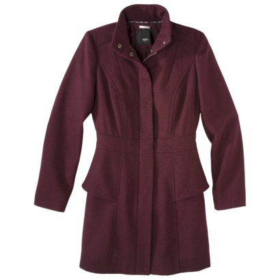 Mossimo® Women's Peplum Coat -Assorted Colors : Target