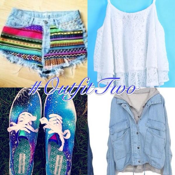 shoes vans blouse jacket shorts tank top sneakers purple