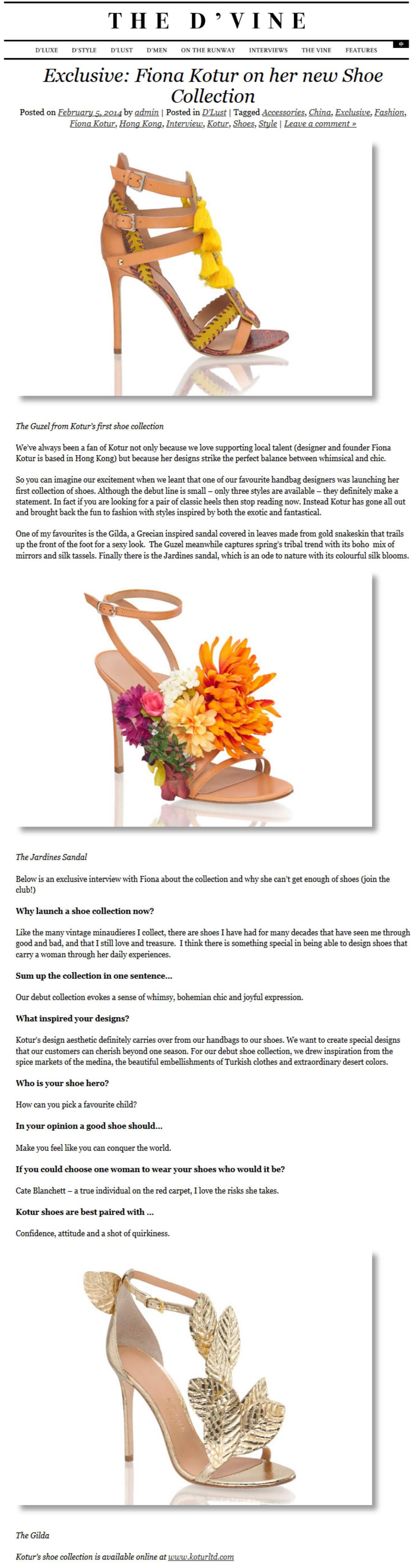 Clutch Minaudiere and now Shoes Jardines - Shoes - Shop KOTUR