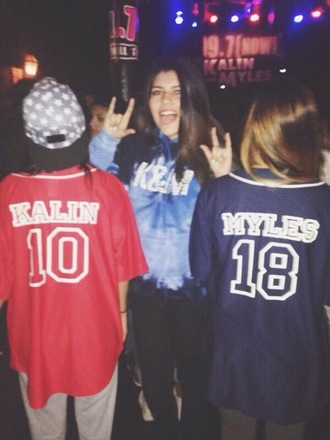jacket kalin and myles kalinandmyles &m k&m myles kalin love sweater jersey