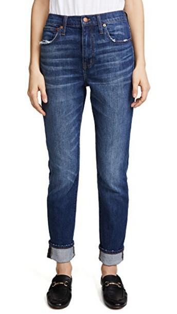 Madewell jeans high