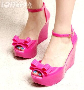 pink shoes vivienne westwood summer shoes cute wedges wedge sandals