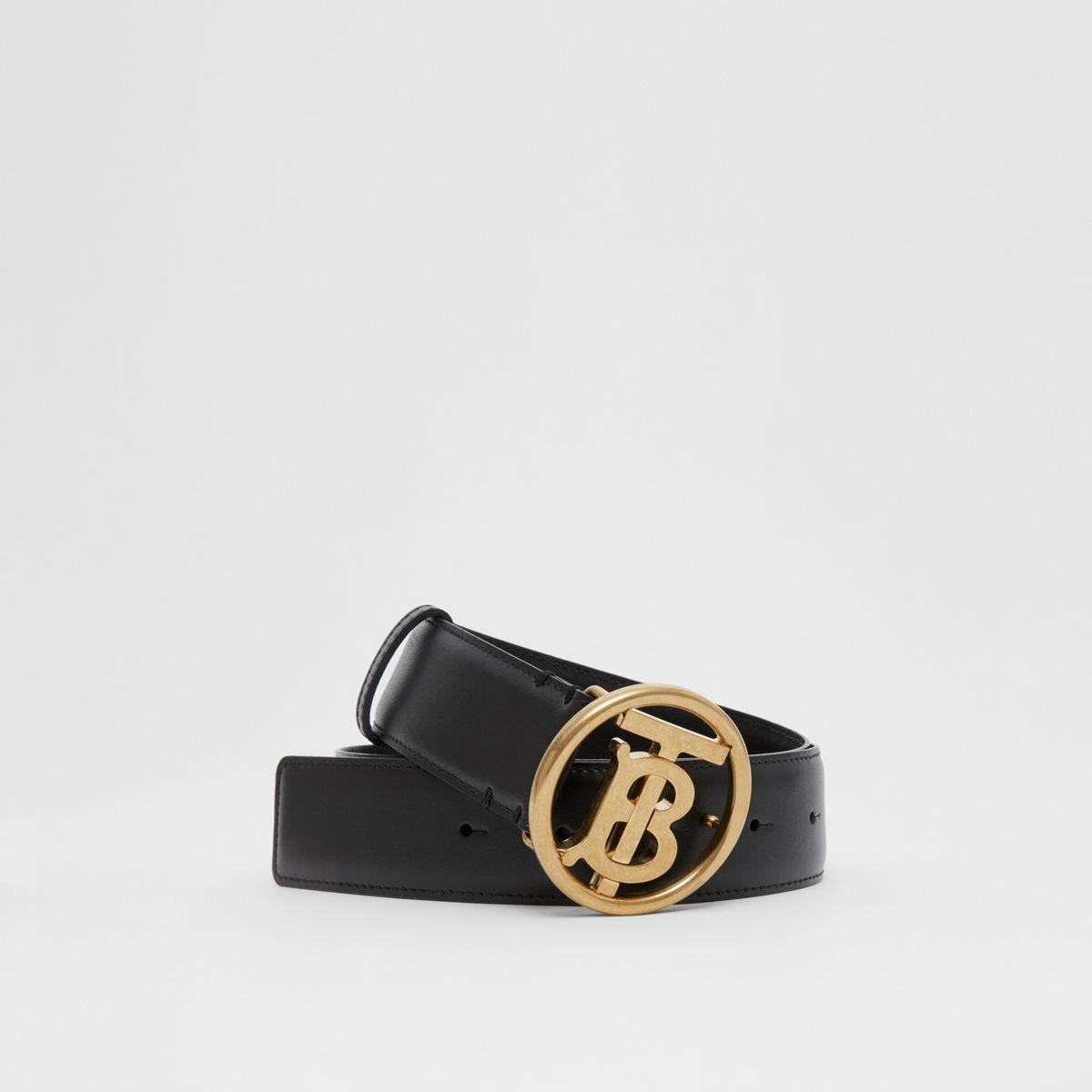 Monogram Motif Leather Belt