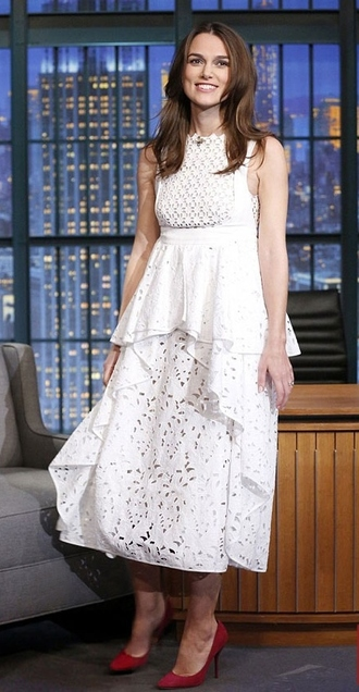 white dress dress keira knightley